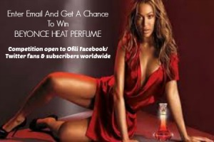 Beyonce Heat Perfume Competition 1